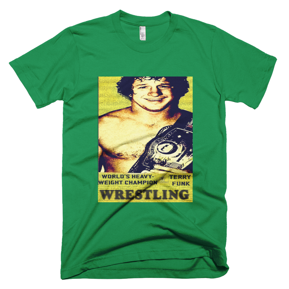 Image of Wanted: Terry Funk Tee Shirt