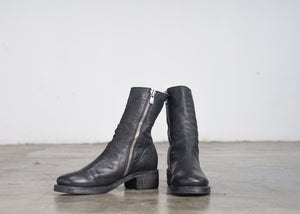 Image of Handcrafted Ankle Leather Boots