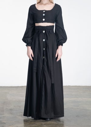 Image of  Long Infinity Top & Tie Skirt