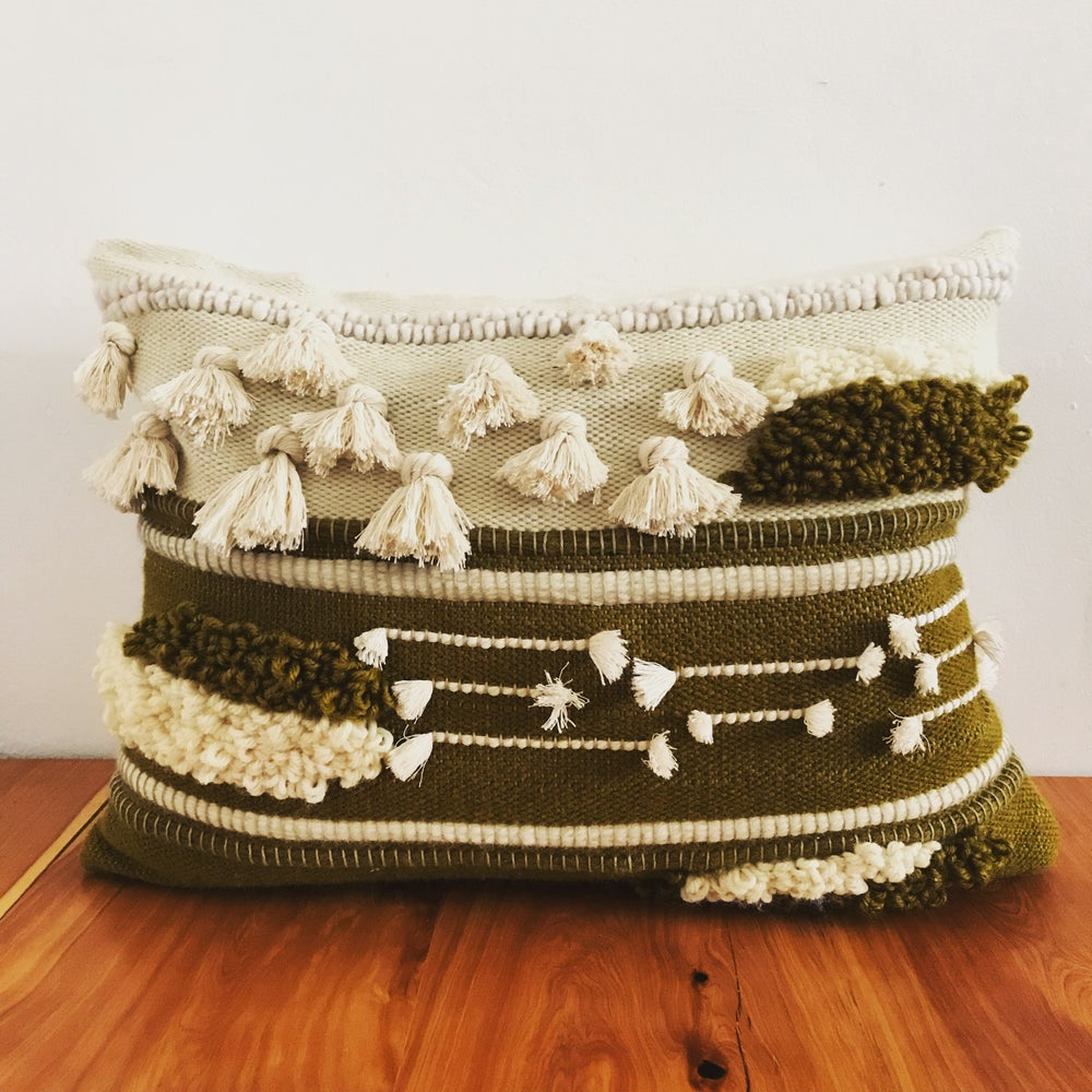 Image of OLIVE PILLOW