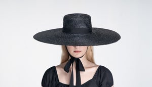 Image of Straw Brim Hat - 005