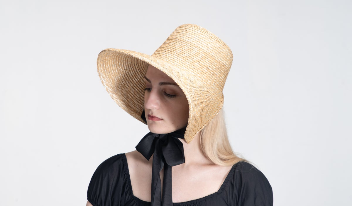 Image of Straw Brim Hat - 007