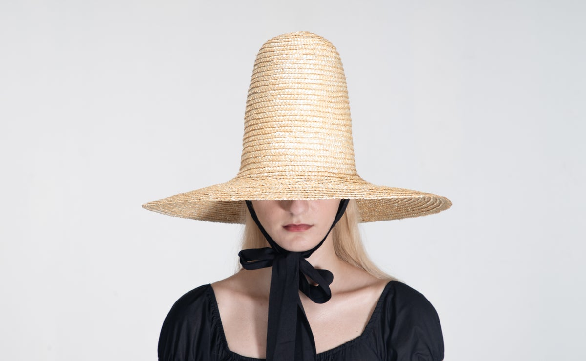 Image of Straw Brim Hat - 009