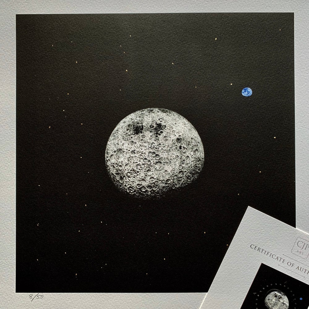 Image of Moon, 'Orbital' Gold Star
