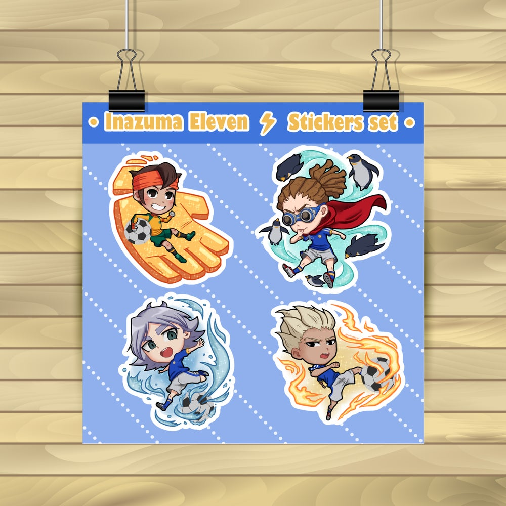 Image of Inazuma Eleven Stickers