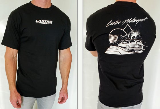 Image of E34 Touring Black & White T-Shirt