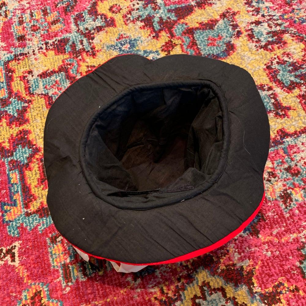 Image of 👉👉🔥For Sale!!!🔥Custom Adjustable Vintage Jester Dancing Bear Embroidered Hat!!