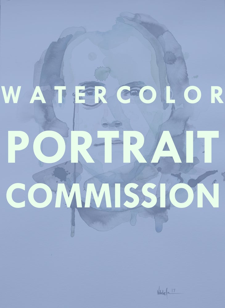 Image of Watercolor Portrait Commission