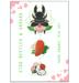 Image of Stag Beetles & Sakura || Hard Enamel Pin Set