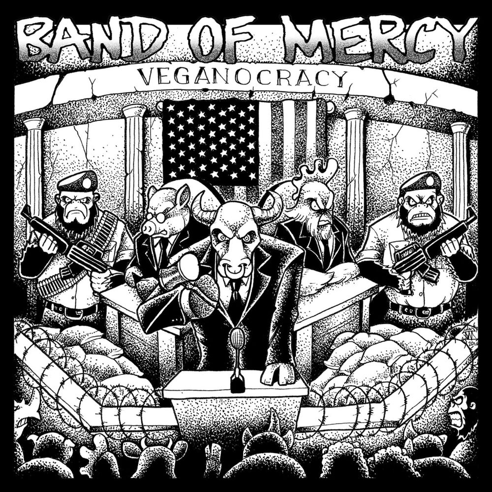 Image of Band of Mercy - Veganocracy (CD/Vinyl)
