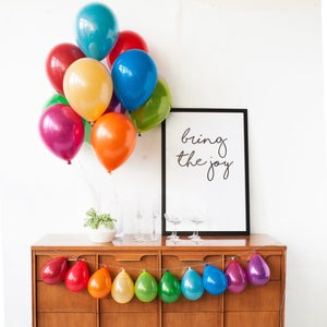Image of Prism Mini Balloon Bouquet