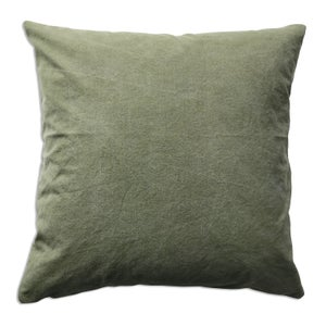 Image of JAPANESE STRIPE TEXTILE PILLOW-GREEN