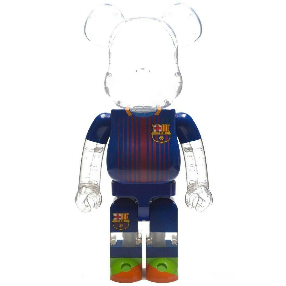 1fefba65 FC Barcelona Bearbrick 1000% Be@rbrick Medicom Toy Limited   Xclusive AF