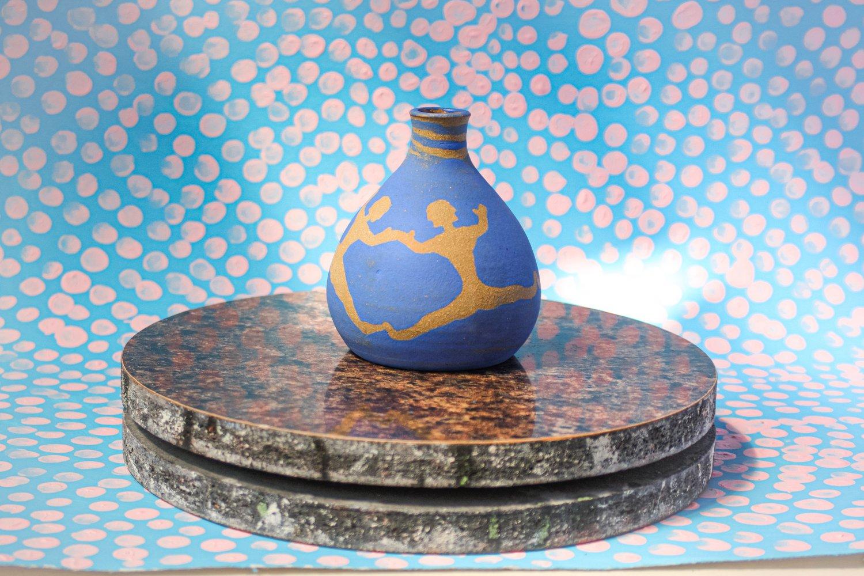 Image of Blue Bellyflop Bottle 5