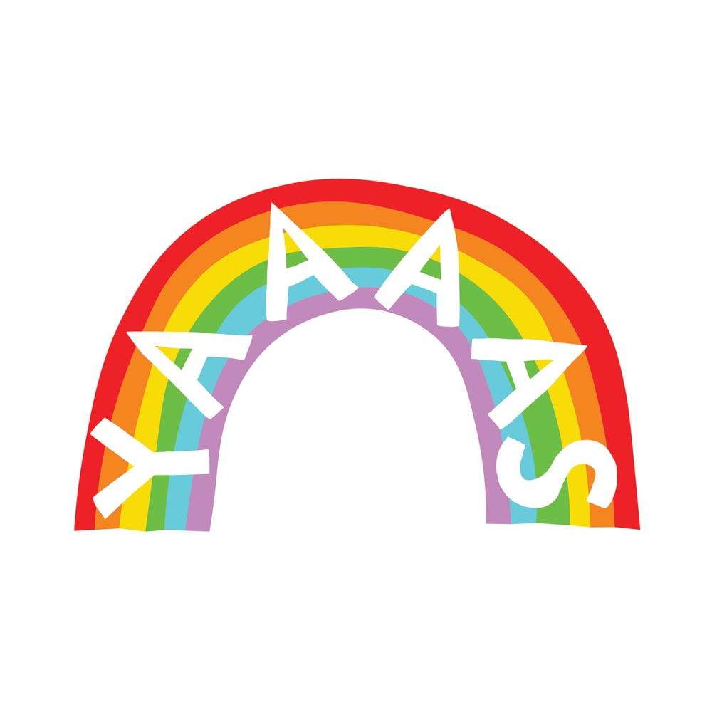 Image of YAAAAS Vinyl Sticker