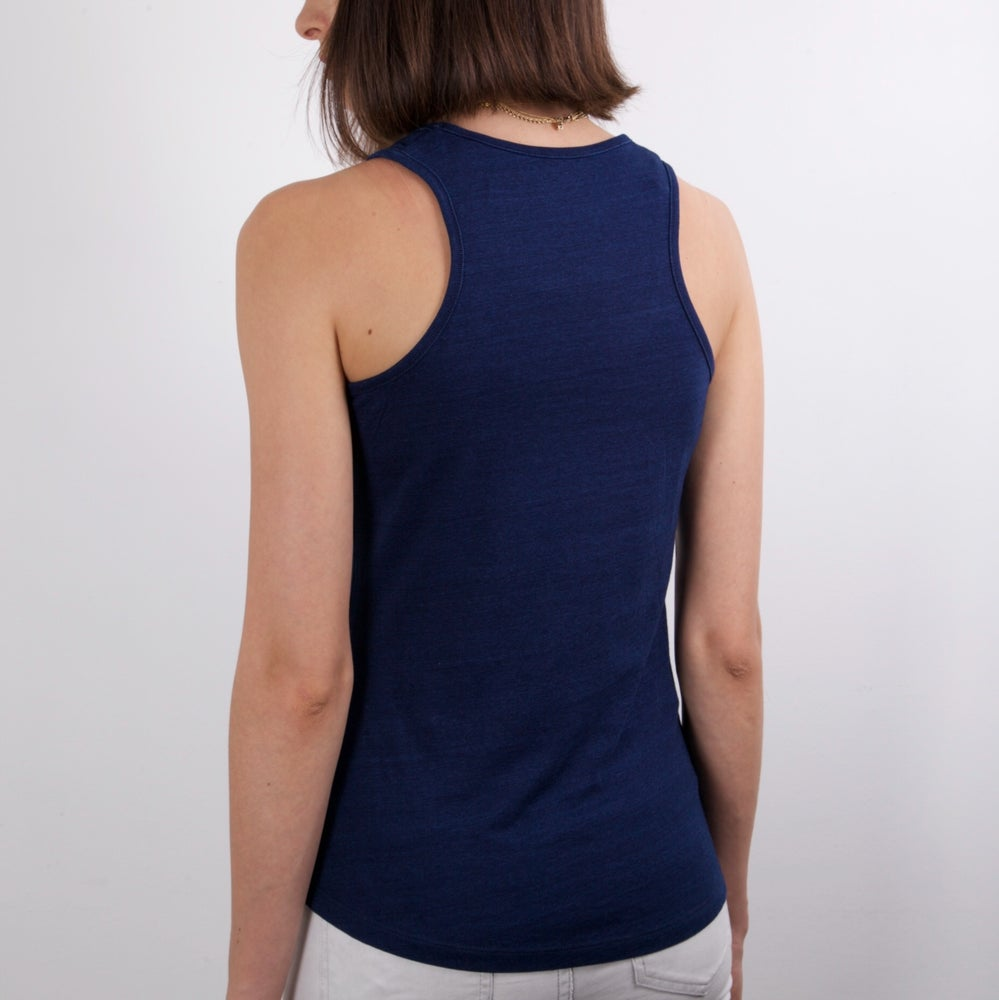 Image of DÉBARDEUR COLLECTION NAVY // Femme