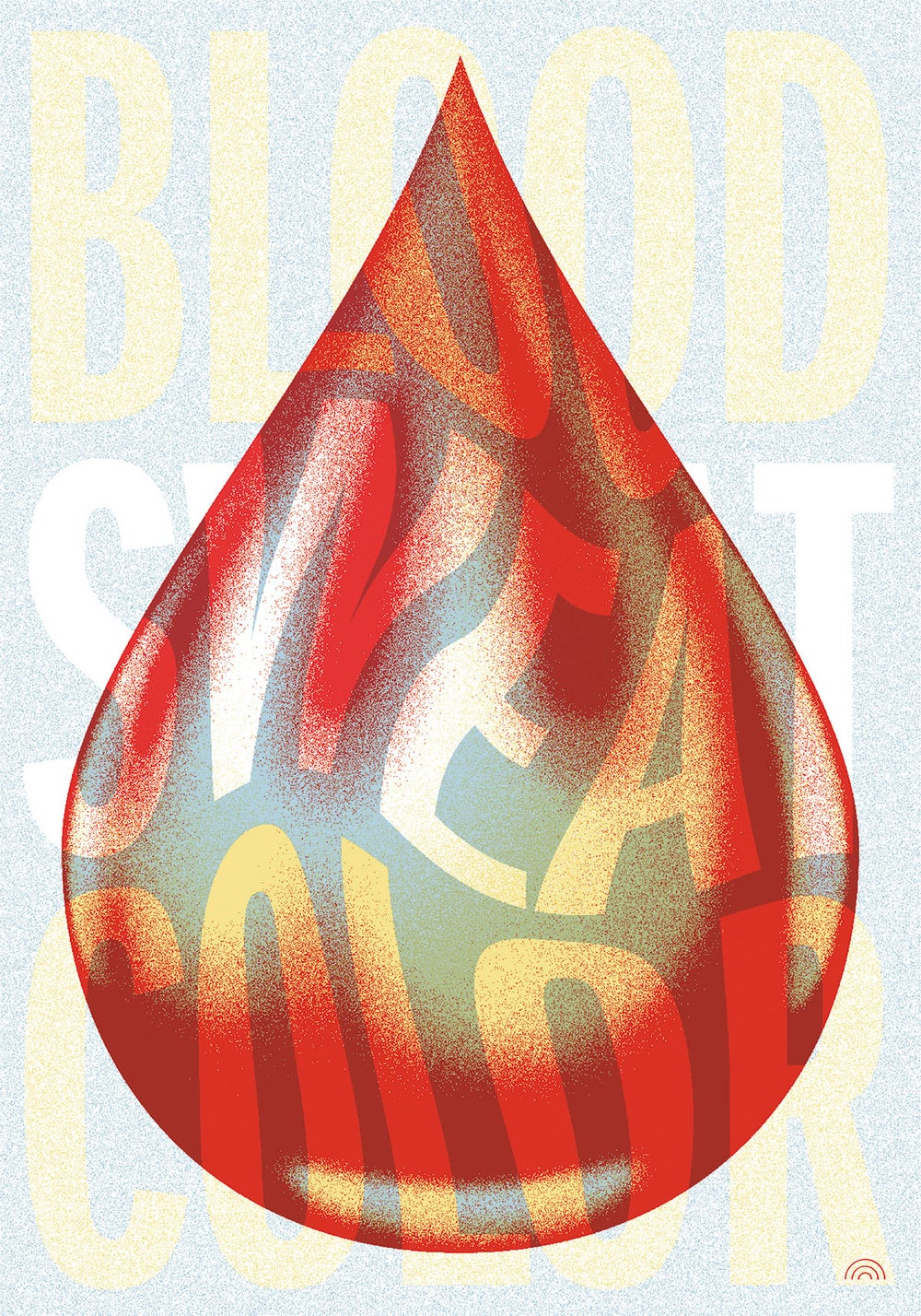 Image of BLOOD SWEAT COLOR