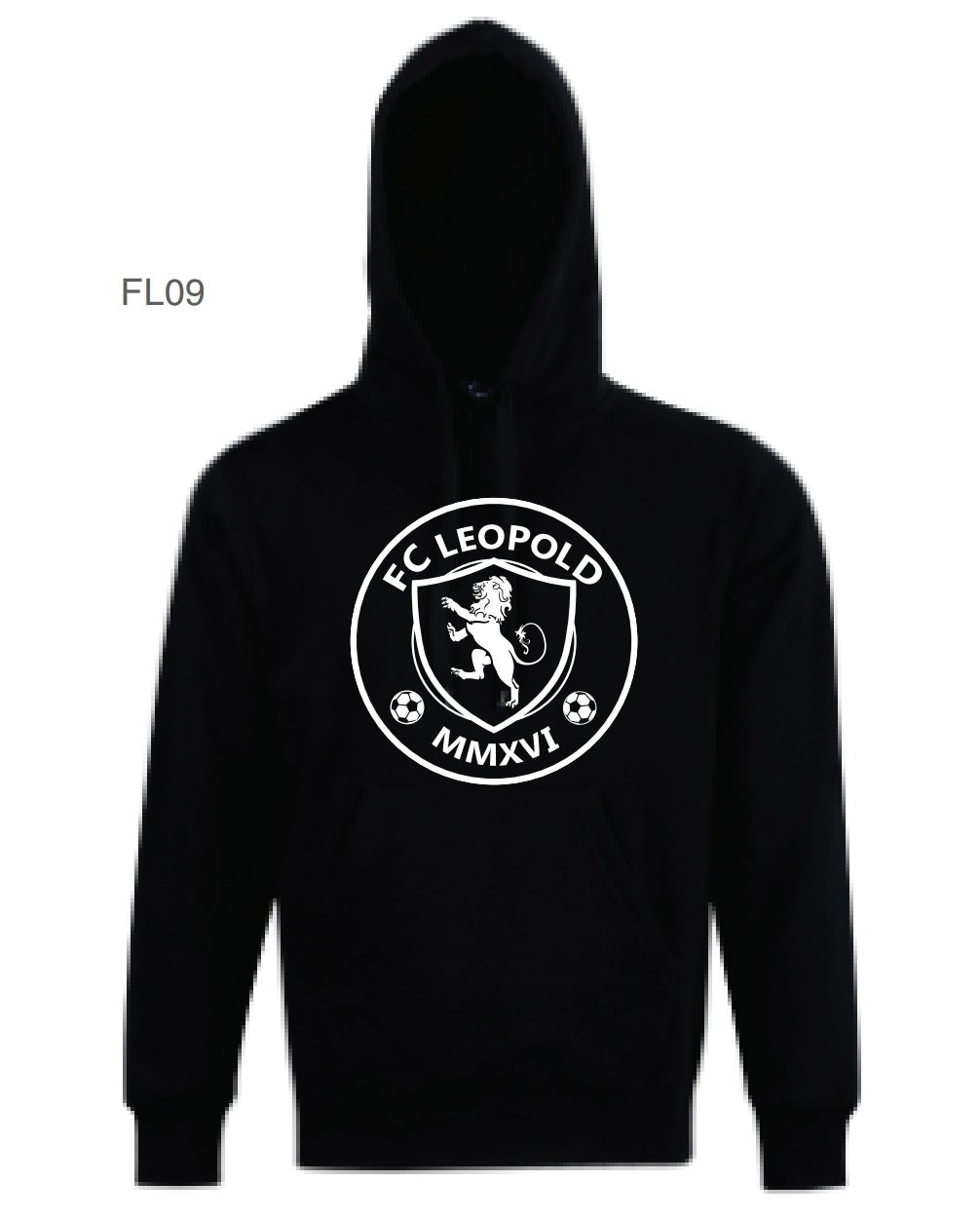 Image of FC Leopold hoodie (JNR and SNR sizes)