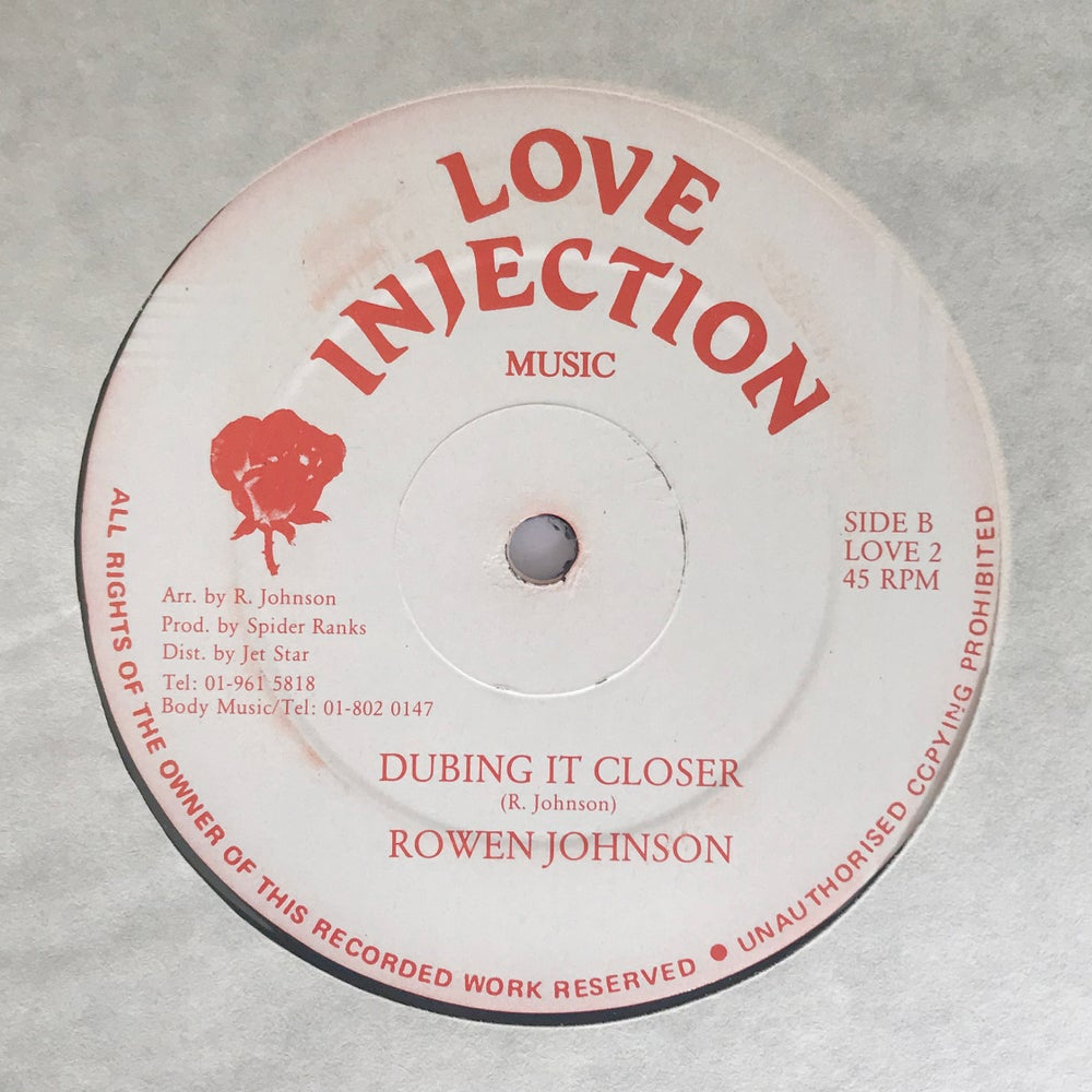 Image of ROWEN JOHNSON - COME A LITTLE CLOSER / DUBING IT CLOSER 12""