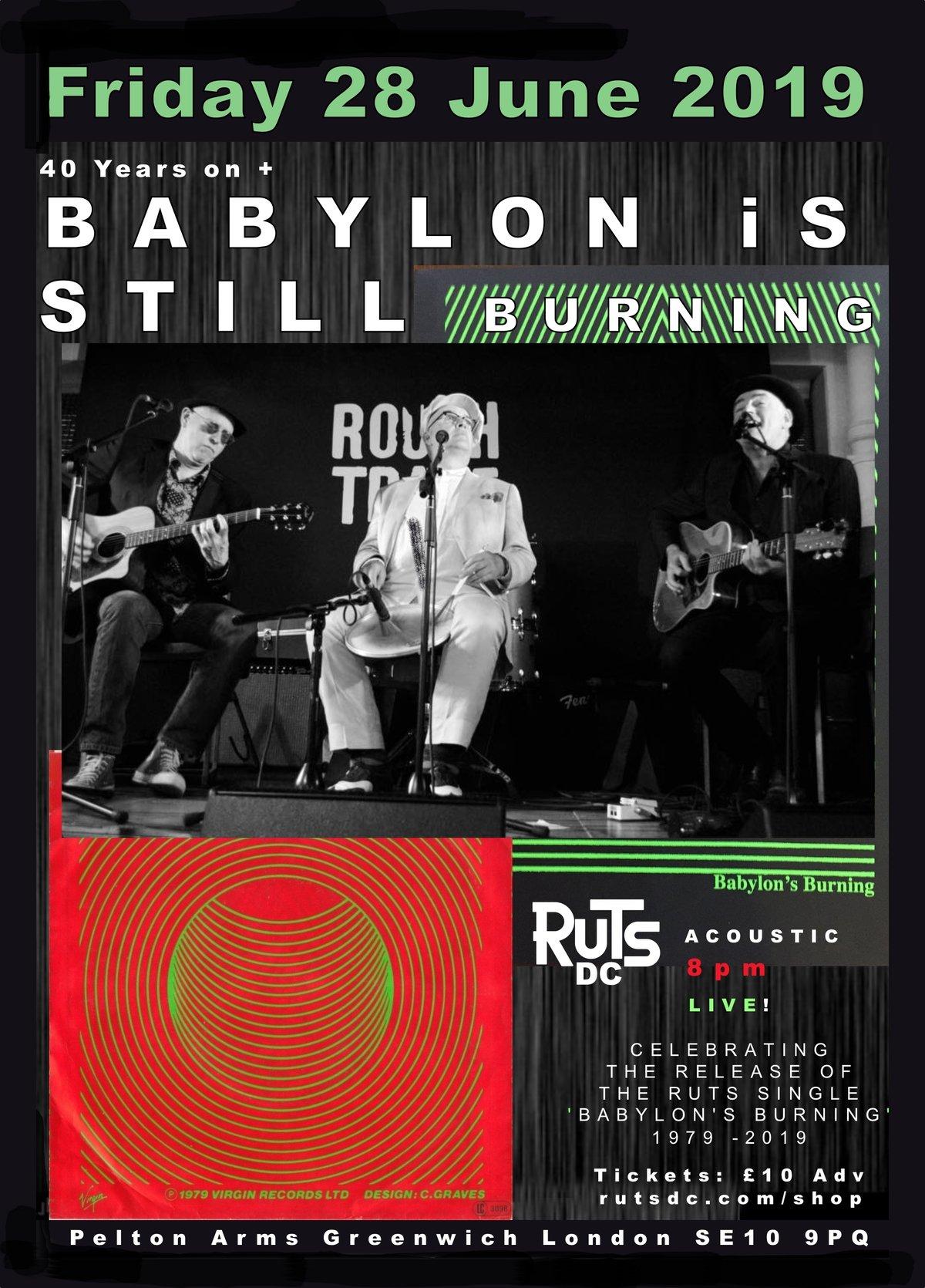 Image of Babylon's Still Burning Acoustic Event 28th June 2019