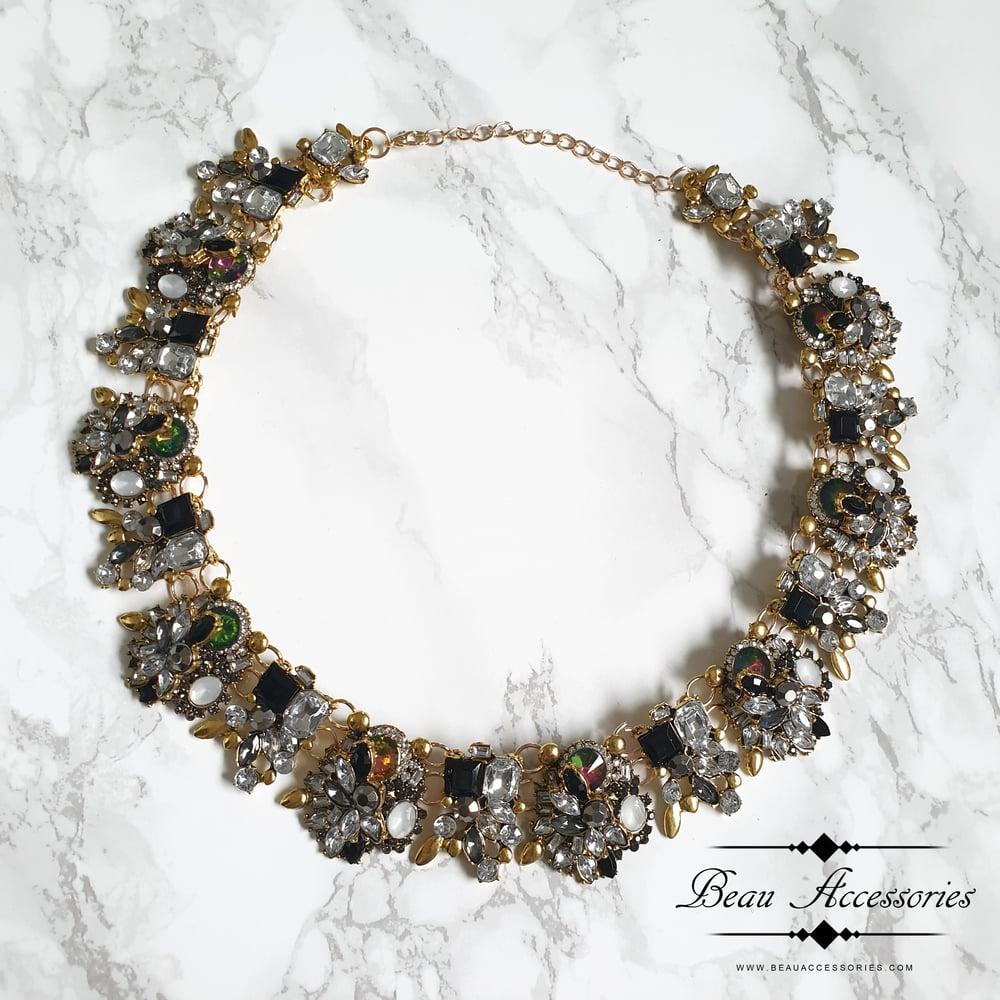 Image of Black Velencia Necklace