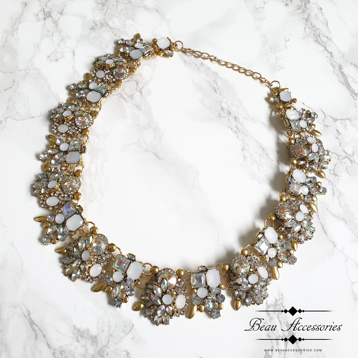 Image of White Velencia Necklace