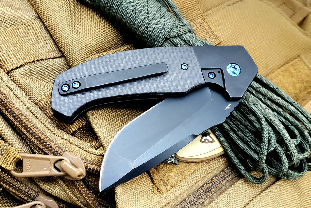 Image of Mini Diesel Flipper with PVD finish blade