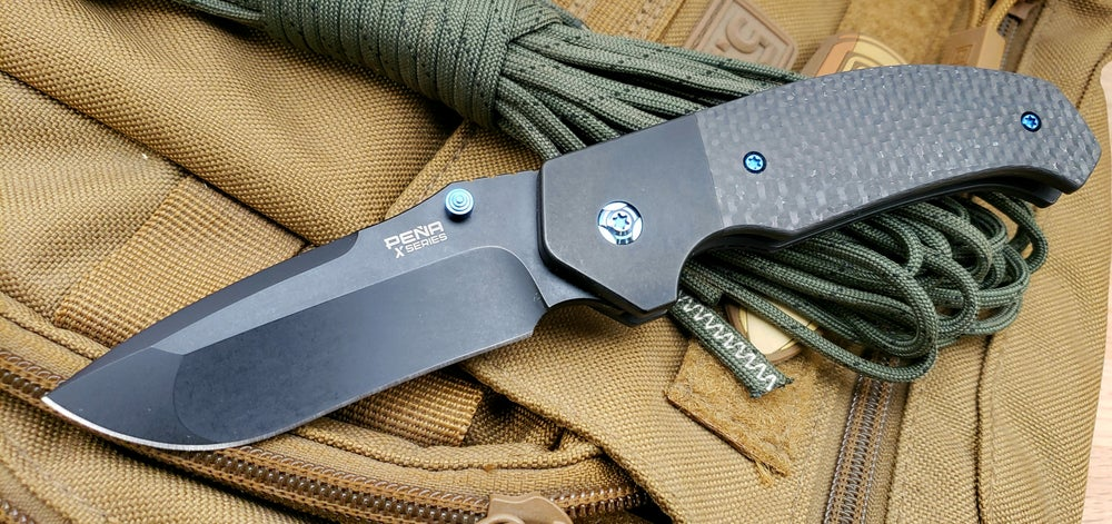 Image of Mini Diesel Thumb Opener with PVD Finish Blade