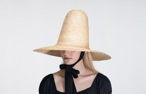 Image of Straw Brim Hat - 009