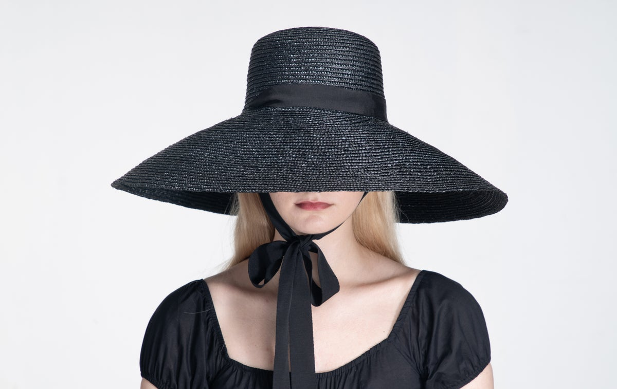 Image of Straw Brim Hat - 011