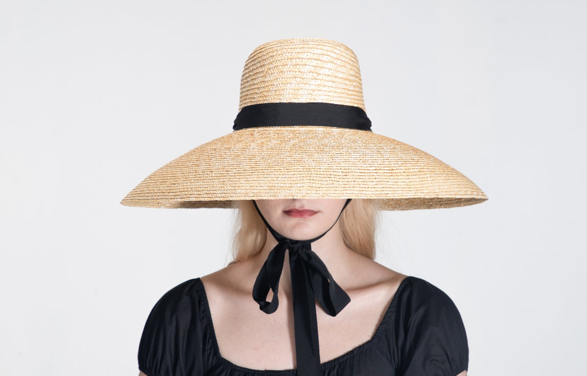 Image of Straw Brim Hat - 012
