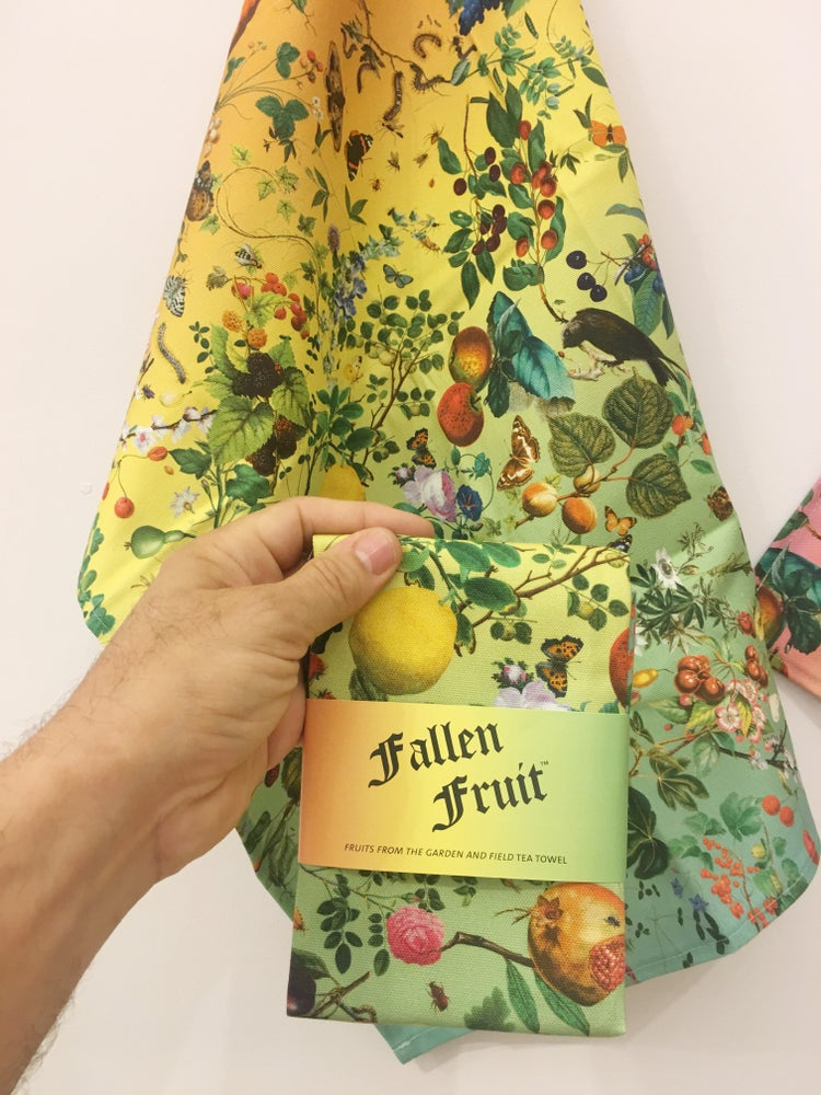 Image of V&A Tea Towel - Fruits from the Garden and Field