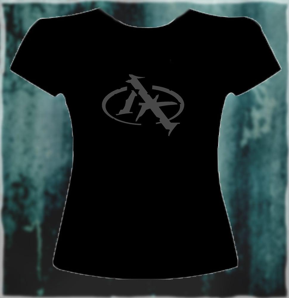 Image of Grey Logo T-shirt (ladies)