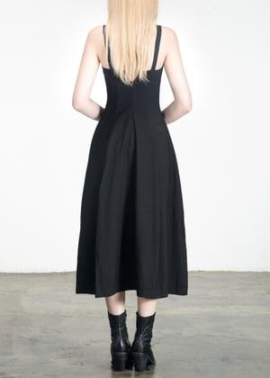 Image of Corset Dress Black