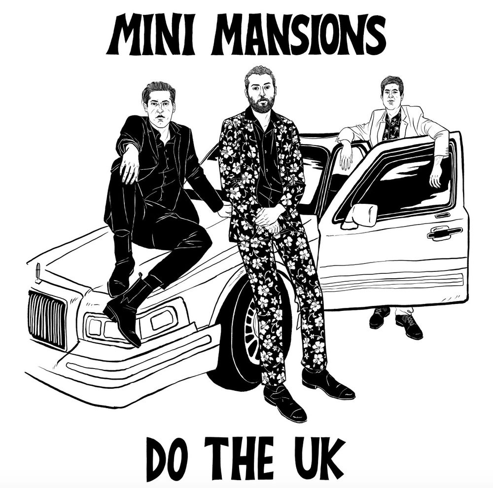 Image of Mini Mansions Do UK 2019 Tour Shirt Limited