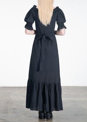 Image of Daisy Ruffled Cuffs Long Dress