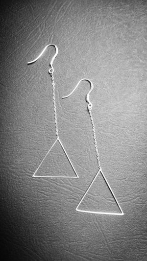 Image of Boucles d'oreilles Triangle