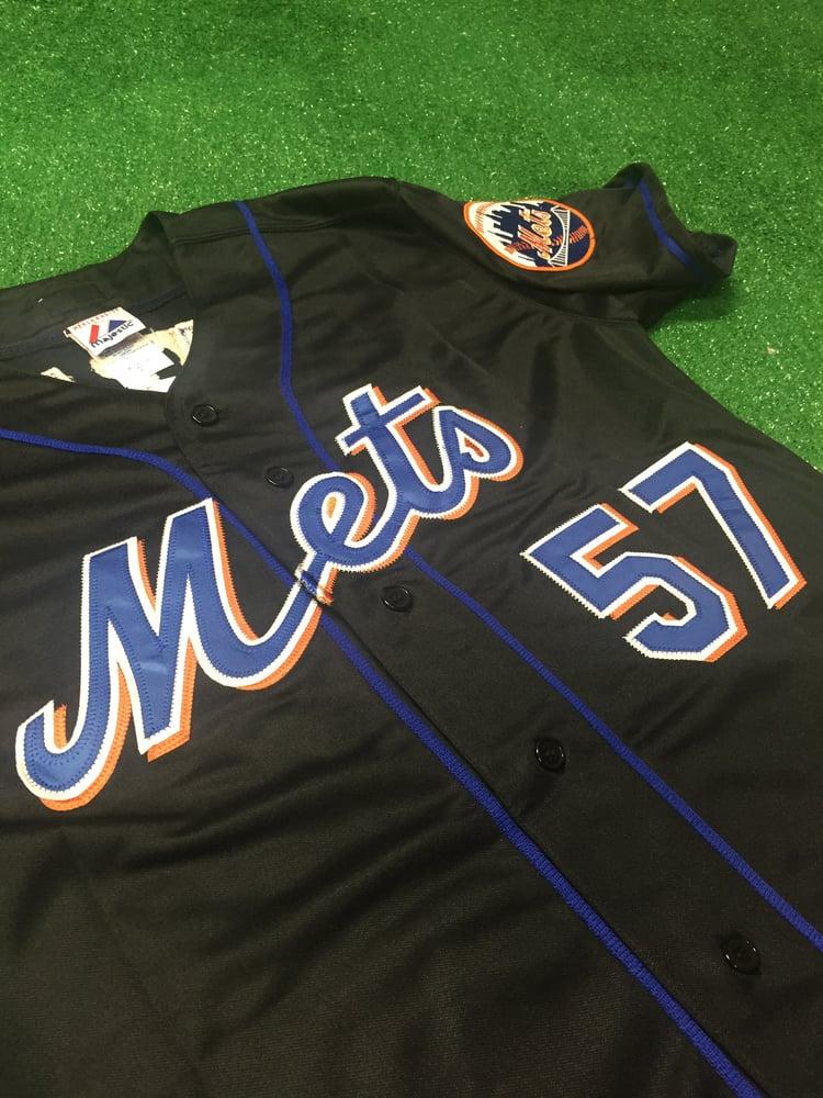 outlet store 717d8 45a59 2008 Johan Santana New York Mets Jersey (Size XL)