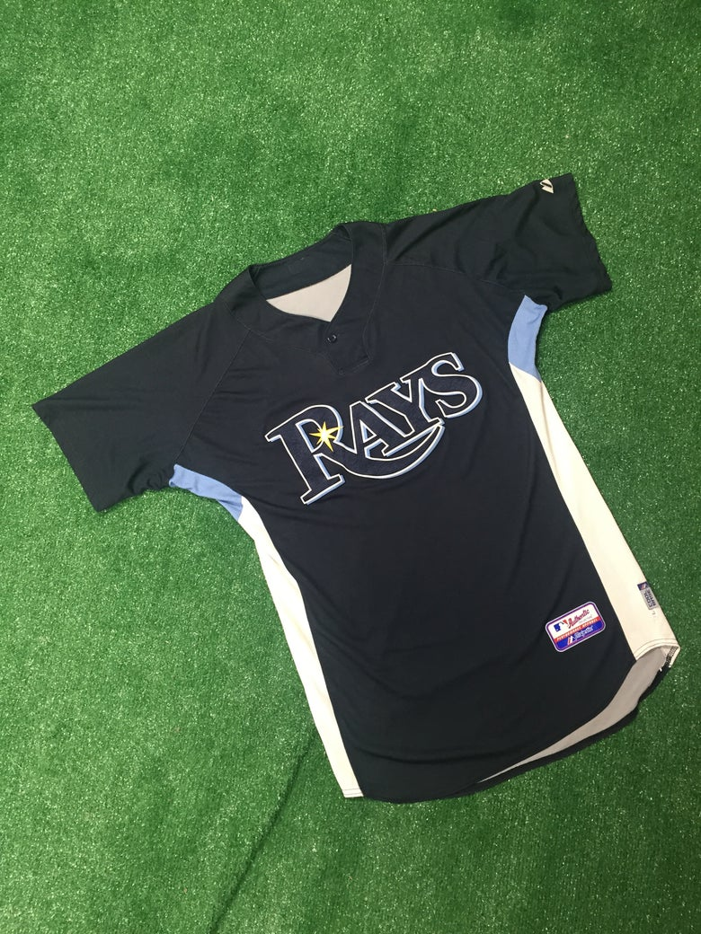 Image of Matt Garza Tampa Bay Devil Rays Batting Practice Jersey (Size Large)