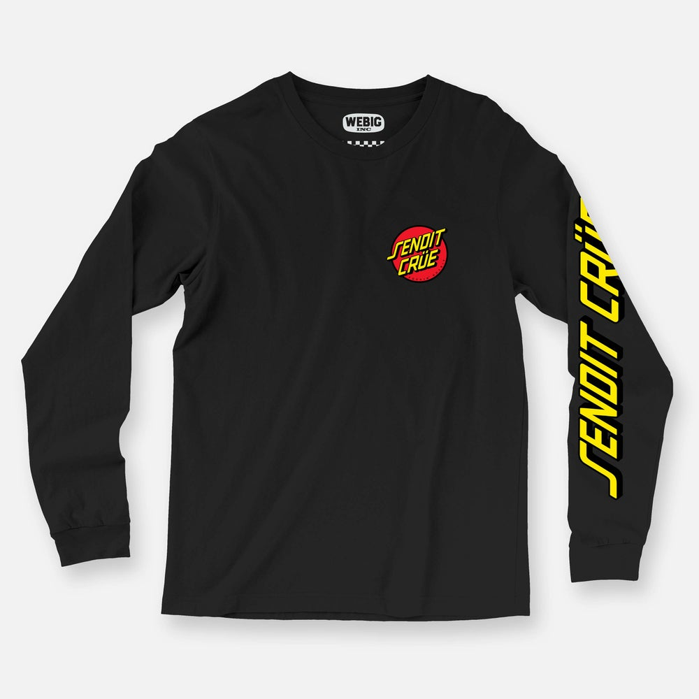 Image of SENDIT CRÜE LONG SLEEVE TEE