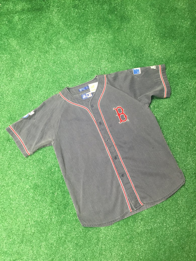 Image of Vintage Boston Red Sox Starter Jersey (Size Large)