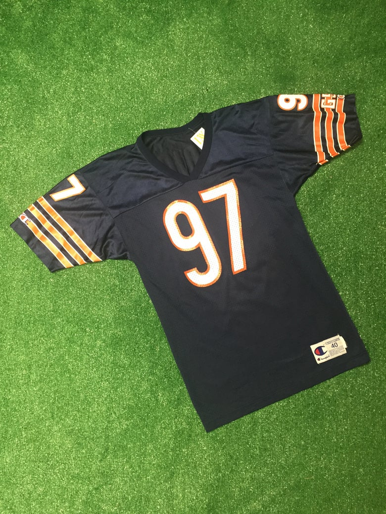Image of Vintage Chris Zorich Chicago Bears Champion Jersey (Size 40)