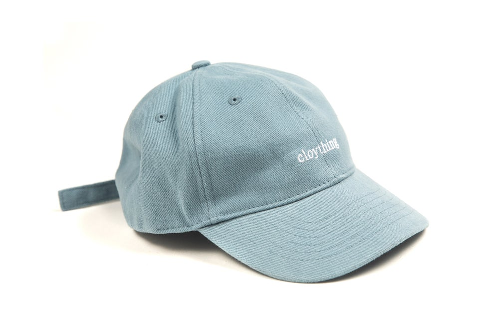 Image of Writer Dad Cap Dusty Blue