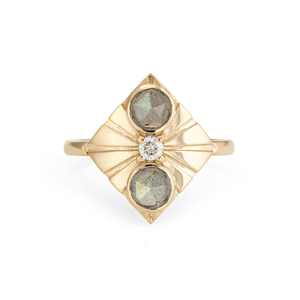 Image of Labradorite Capella Ring