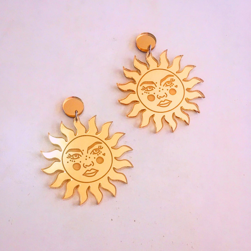Image of Tarot Suns (Gold)