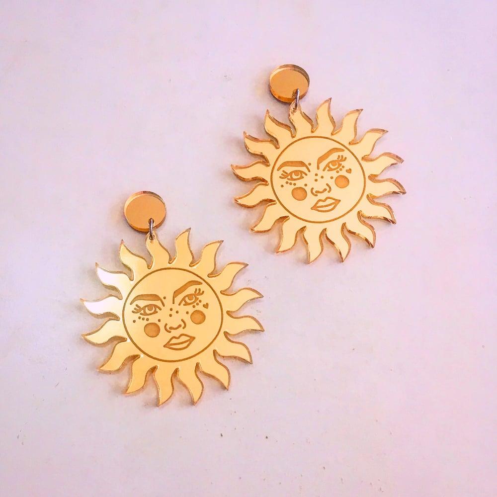 Image of Tarot Suns (Gold)