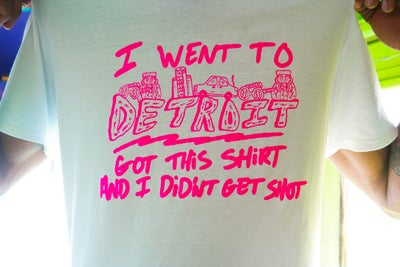 "Image of ""I WENT TO DETROIT"" Shirt"