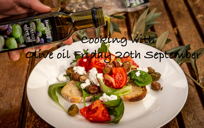 Image of Friday 20th September Cooking with Olive oil