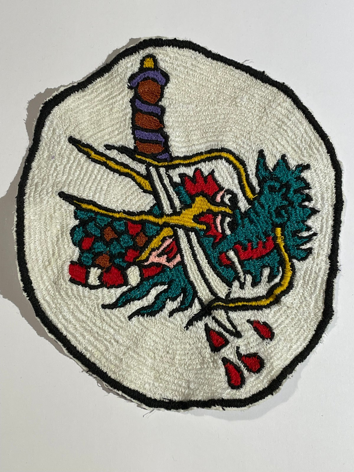 Image of Large Dragon patch. 2
