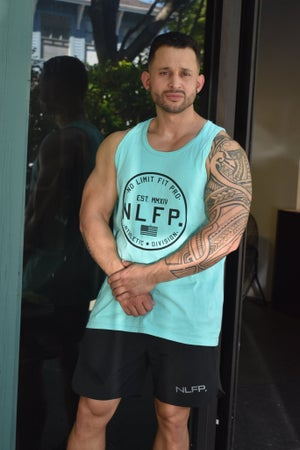 Image of LIMITLESS TANK TOP  TEAL